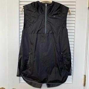 Ivy Park Black Pattern Windbreaker Vest